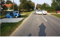 U Kapincima prometna nesreća s teškim tjelesnim ozljedama