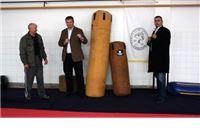 Tvrtka Nikola  darivala vreće za sparing Karate klubu Virovitica