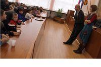 Učenici trećih razreda Osnovne škole iz Orahovice posjetili Županiju