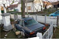 S 2,4 promila vozač polomio ogradu kapelice Snježne gospe