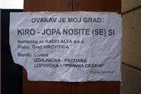 Ročište na Općinskom sudu: Kirin i Đakić protiv Zdravka Tomekovića