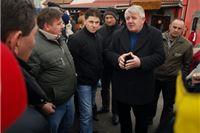 Đakić, Čavlović, Tolušić i Kirin obišli prosvjendike