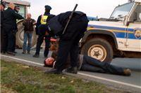 Seljaci blokirali granicu, uhićeno nekoliko prosvjednika, jedan ozlijeđen + fotogalerija