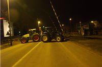 Prosvjednici umalo zapalili Romićev kamion na Podravskoj magistrali
