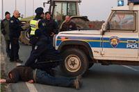 Traktori se povukli, policija još ne šalje priopćenje o jučerašnjem incidentu