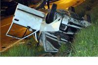 Dvoje teško ozlijeđeno u slijetanju auta