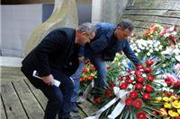 Virovitički vijenac u spomen na 65 obljetnicu proboja iz ustaškog logora Jasenovac
