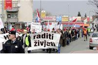 Osiromašeni radnici poručili Vladi RH: Ili bolje ili dolje!