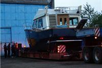 Čelični brod iz virovitičkog brodogradilišta otputovao na morska ispipavanja u Punat