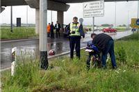 Lakše ozlijeđeni motociklist