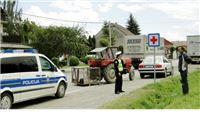 U sudaru traktora i kamiona ozlijeđena 77-godišnja žena