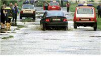 Bujice potopile državnu cestu D2 kuće i gospodarske objekte