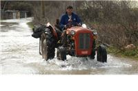 Brdske bujice dijelom poplavile Orahovicu