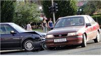 U sudaru automobila u središtu Slatine nema ozlijeđenih