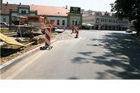 Započeli radovi na izgradnji kružnog toka na Trgu kralja Tomislava