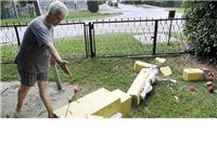 Mladić iz obijesti srušio i razbio betonski križ s Isusovim kipom