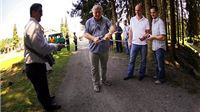 Otvoreni radovi na uređenju parka u Voćinu kojim će se urediti pješačke staze, rasvjeta, klupe…