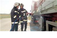 Brza intervencija vatrogasaca spriječila požar na kamionu