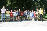 Mladi rukometaši Viro Virovitice na prijemu kod gradonačelnika