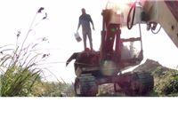 Iz bagera na gradilištu kradljivci ukrali 240 litara dizela