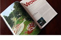 Virovitica kao trijem Slavonije u inflight magazinu Croatia airlinesa - Croatia