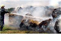 Vatra zahvatila 300 bala sijena, vatrogasci brzo ugasili požar