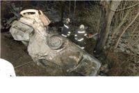 Vozač i automobil izgorjeli do neprepoznatljivosti