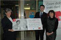 PBZ Card uručio donaciju Odjelu za dječje bolesti