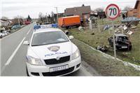 Iz razbijenog Fiata ispao motor, vozač u bolnici