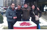 Forum mladih SDP-a: Za Valentinovo podijeljeno 500 privjezaka u obliku srca