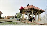 Sponzori osigurali novac, Bakićani podigli sjenicu i uredili igralište