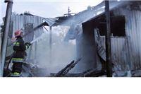 Zbog udara groma izgorio lovački dom