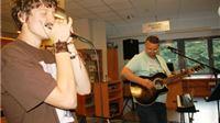 Luka i Romano Tripalo i Perica Mihaljević - humanitarni blues koncert