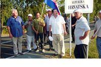 Obilježena 20 obljetnica postavljanja prve granične ploče s imenom Republika Hrvatska