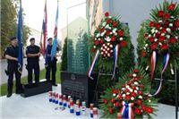 Pologanjem vijenca na spomen obilježju poginulim djelatnicima započelo obilježavanje Dana policije