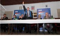 HDZ obišao općine Lukač, Gradinu i Pitomaču - predstavio kandidate i  program