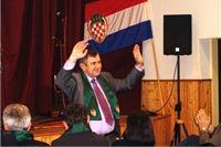 Hrvatska seljačka stranka održala predizborni skup u Orahovici