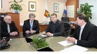 Gradonačelnik primio delegaciju grada Barcsa