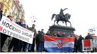 Radnici KIO Orahovice prosvjeduju u Zagrebu