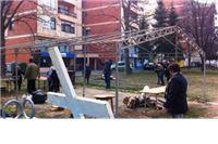 Nakon 95 dana prosvjednici KIO Keramike srušili šator