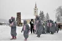 Snježne maškare ludovale gradom