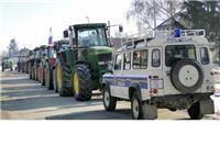 Seljaci u Gradini blokirali županijsku cestu broj 4005
