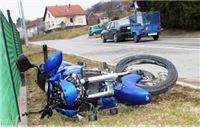 U Milanovcu poginuo je vozač motocikla Tomislav Uzelac