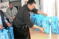 Najugroženijim obiteljima SDSS u povodu Uskrasa uručio poklone