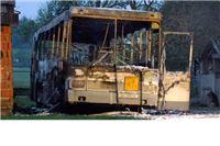 Plamen progutao školski autobus 'Čazmatransa'