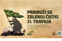 Zelena čistka – jedan dan za čisti okoliš