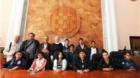 Djeca iz Osnovne škole iz Lakocse (Lukovišće), posjetila su Virovitičko-podravsku županiju