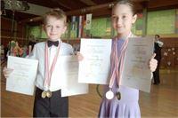 Tri medalje  za plesni klub ''H-8''