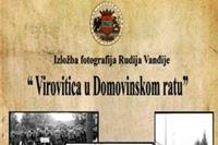 "Večeras izložba fotografija Rudija Vanđije ""Virovitica u Domovinskom ratu"""