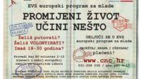 Uključi se u EVS europski program za mlade kao EU volonter